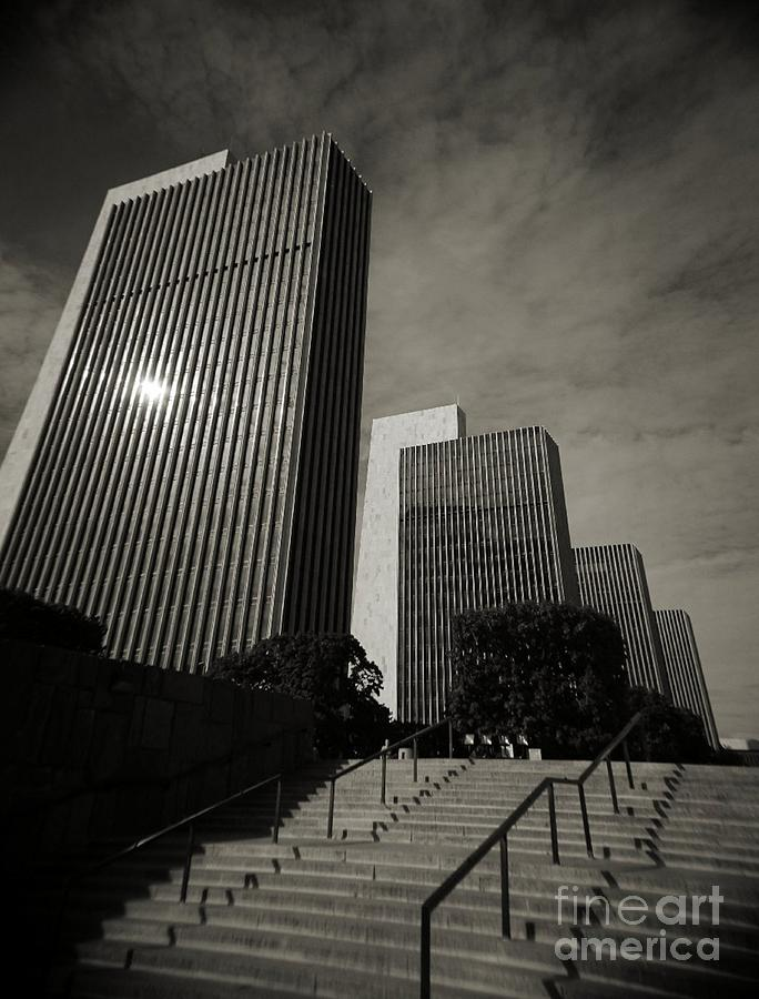 Empire State Plaza Photograph by Chet B Simpson