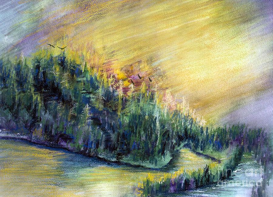 Enchanted Island Painting