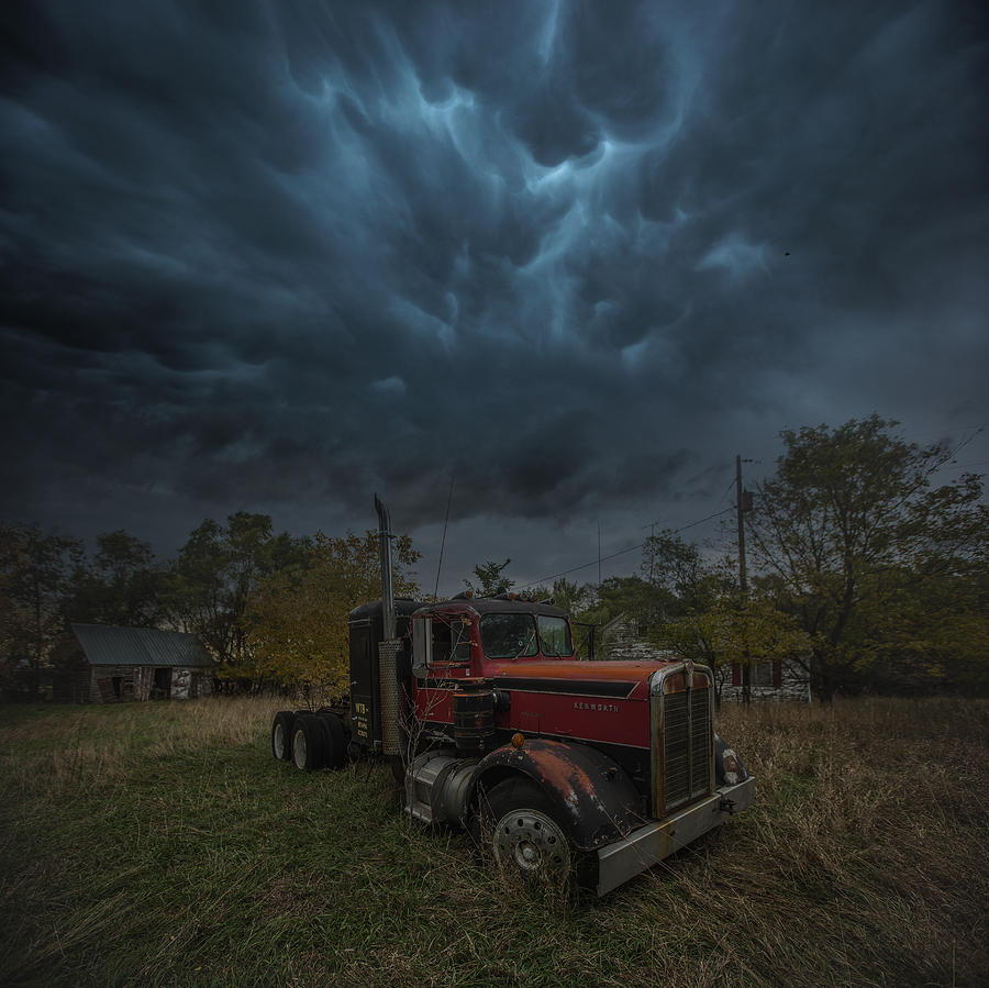 End Of The Road Photograph by Aaron J Groen