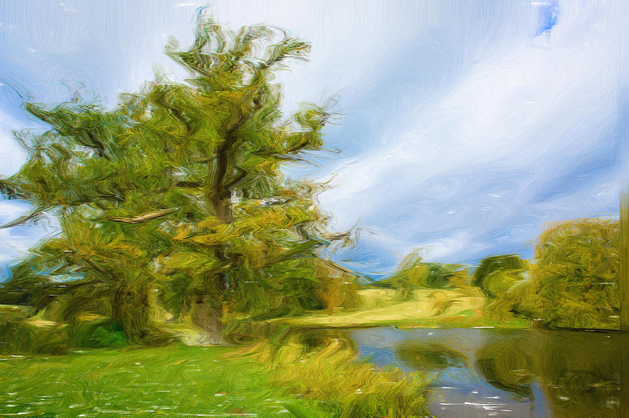 Abstract Photograph - English Landscape by Tom Gowanlock