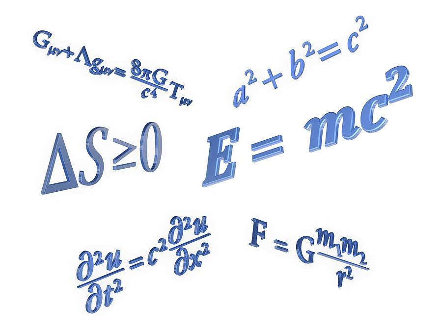 Equation Photograph - Equations by Alfred Pasieka