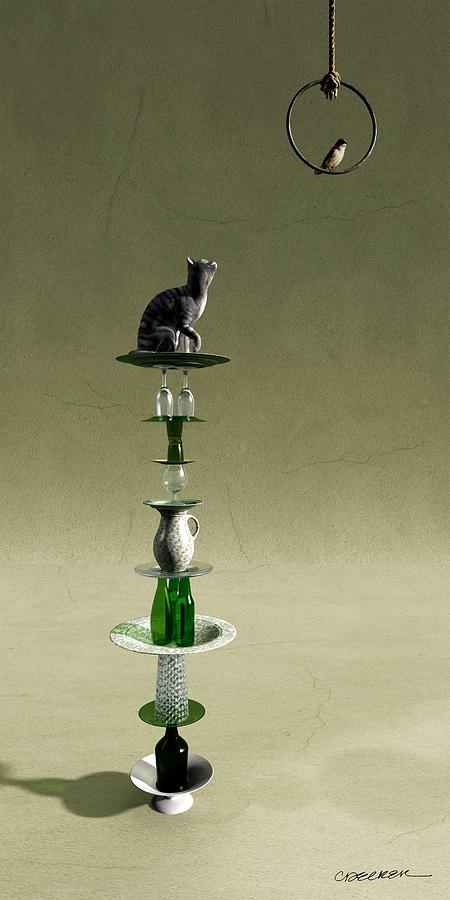 Equilibrium III by Cynthia Decker