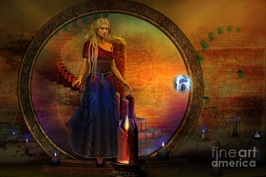 Forever Digital Art - Evermore by Shadowlea Is