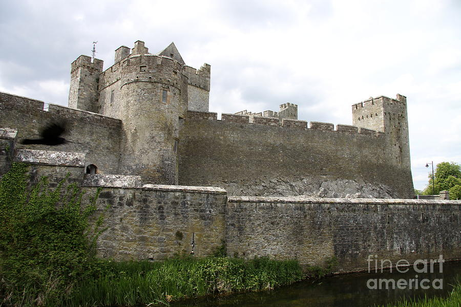 Cahir Castle Photograph - Exterior Of Cahir Castle by Christiane Schulze Art And Photography