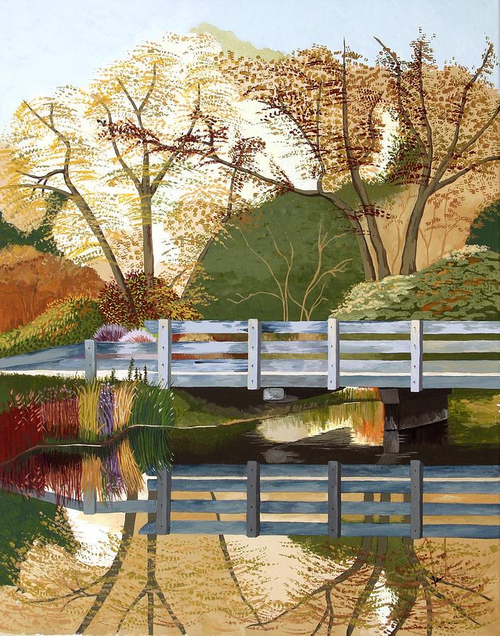 Scenery Painting - Fall Drive by Jennifer  Donald