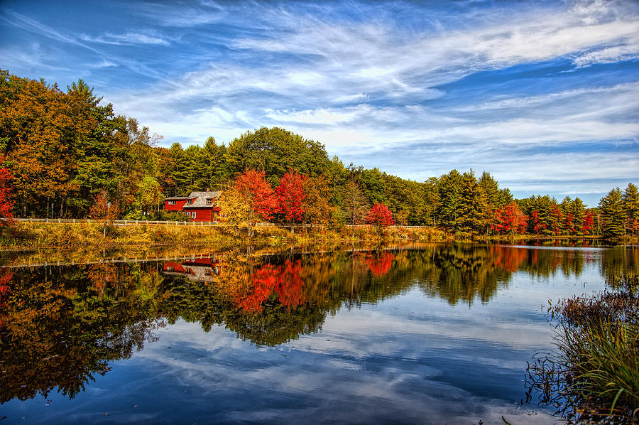Fall Photograph - Fall In New England by Bennie Thornton