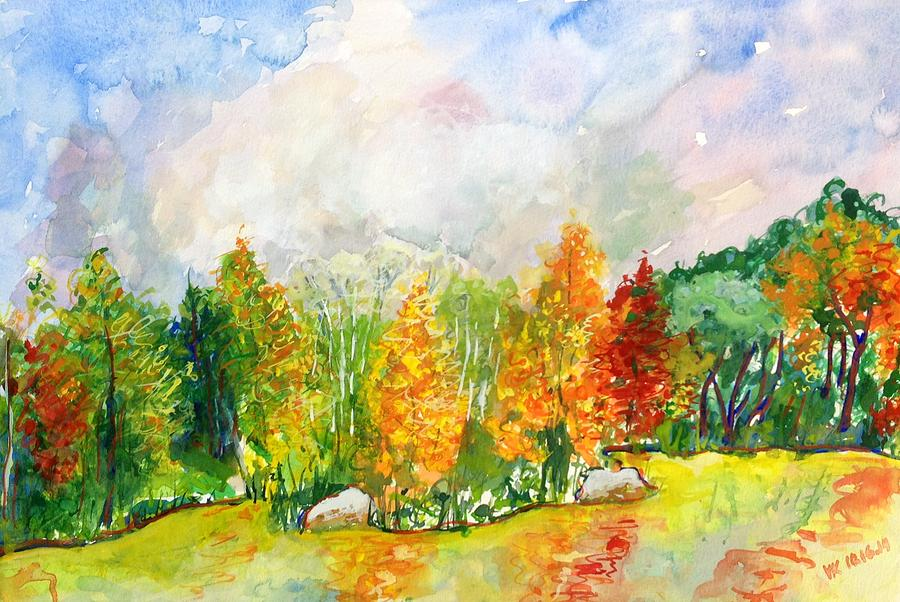 Fall Painting - Fall2014-9 by Vladimir Kezerashvili