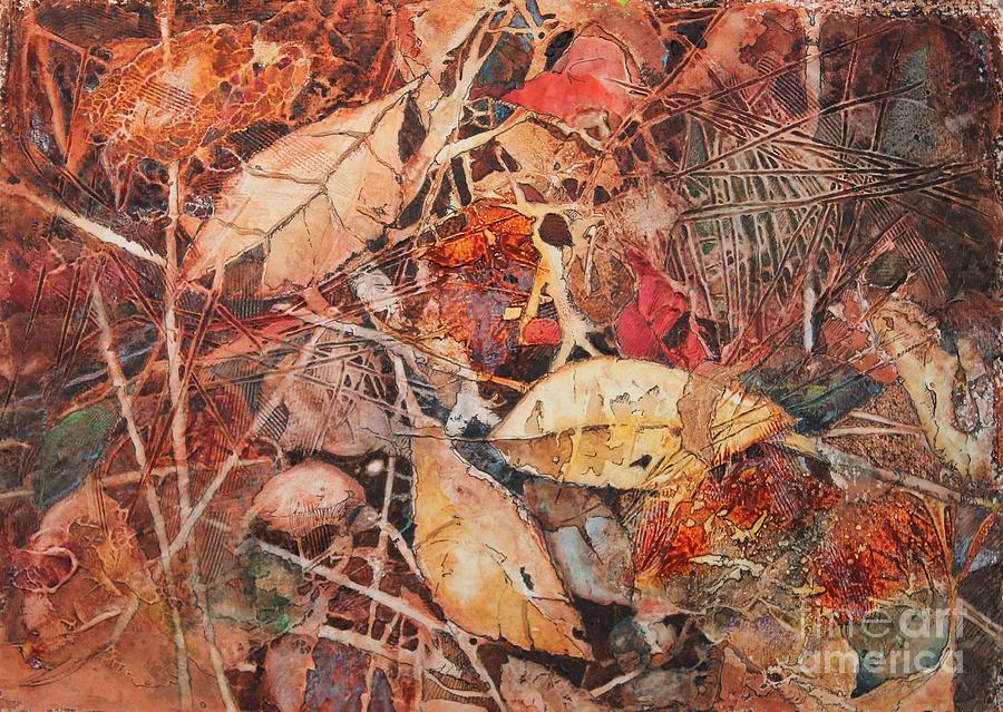 Fall Painting - Fallen by Elizabeth Carr