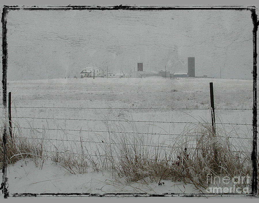 Farm Photograph - Farmstead by Jim Wright
