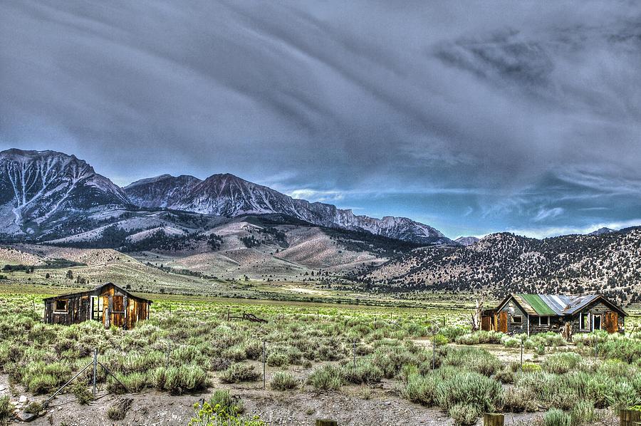 Buildings Photograph - Farrington Ranch 2 by SC Heffner