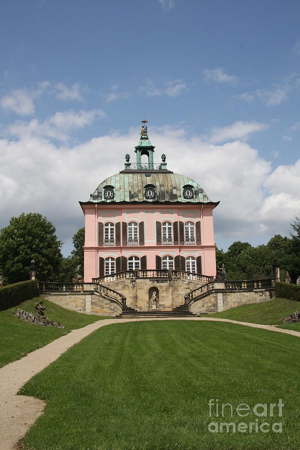 Palace Photograph - Fasanen Schloesschen - Germany    Pheasant Palace  by Christiane Schulze Art And Photography