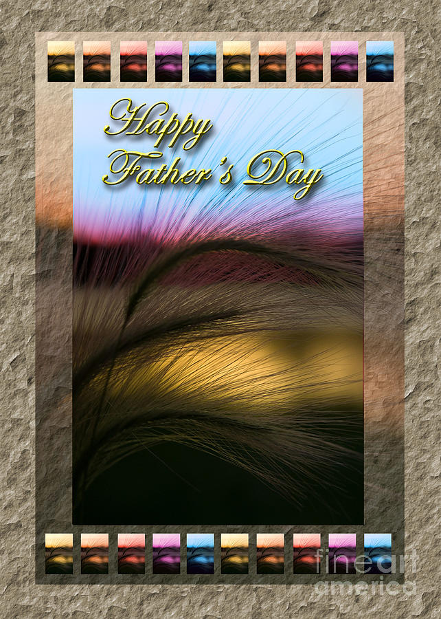 Rainbow Photograph - Fathers Day Grass Sunset by Jeanette K
