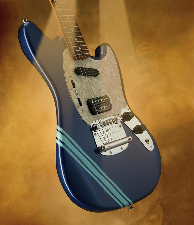 Fender Kurt Cobain Mustang Electric Photograph by Total Guitar Magazine