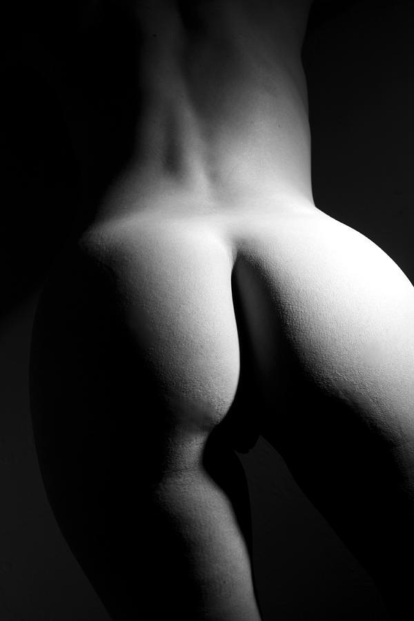 Black And White Photograph - Figure Study by Joe Kozlowski