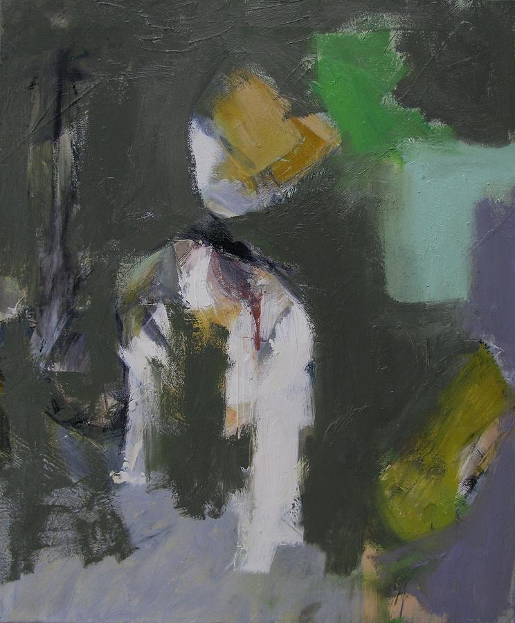 Abstract Painting - Figures by Fred Smilde