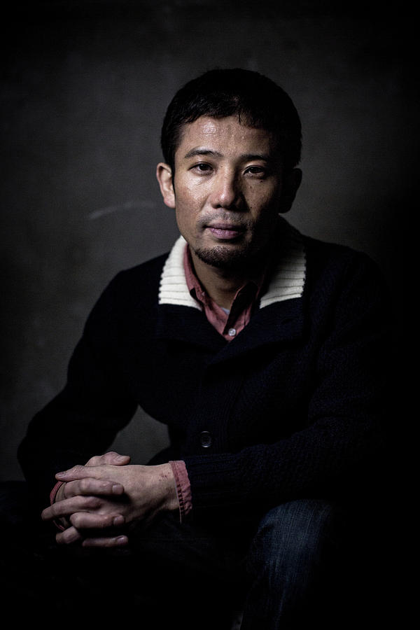 Film Director Shuhei Morita Portrait Photograph by Chris Mcgrath