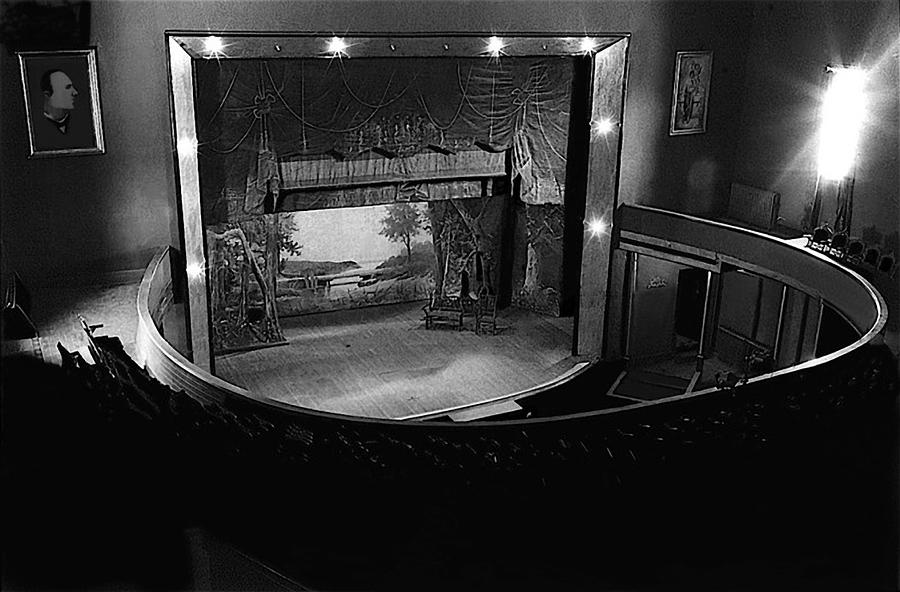 Film Homage Charles Foster Kane Orson Welles Citizen Kane 1941 Tabor Opera House 1 Leadville Co 1971 Photograph by David Lee Guss