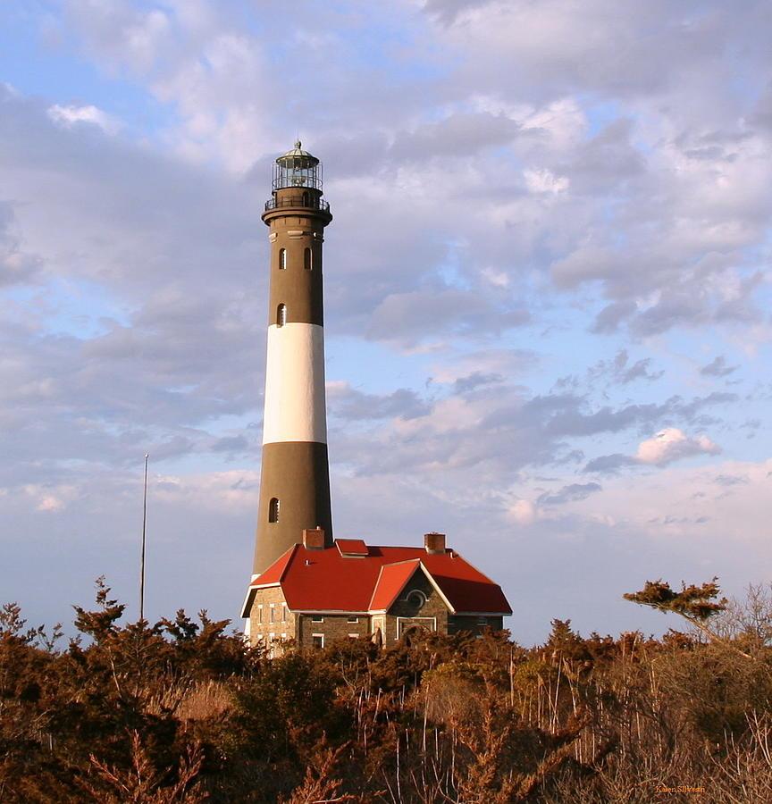 Fire Island: Fire Island Lighthouse Photograph By Karen Silvestri