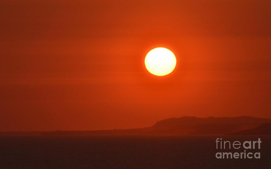 Sun Photograph - Fire by Sue Rosen