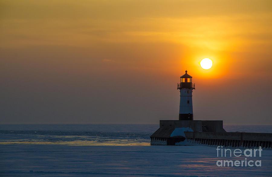 Sunrise Photograph - First Sunrise by Ronny Purba