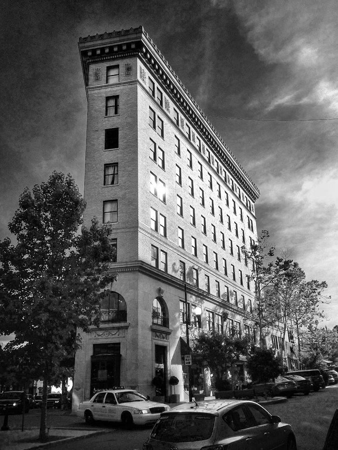 Flat Iron.asheville Photograph - Flat Iron 2 by Mark Block