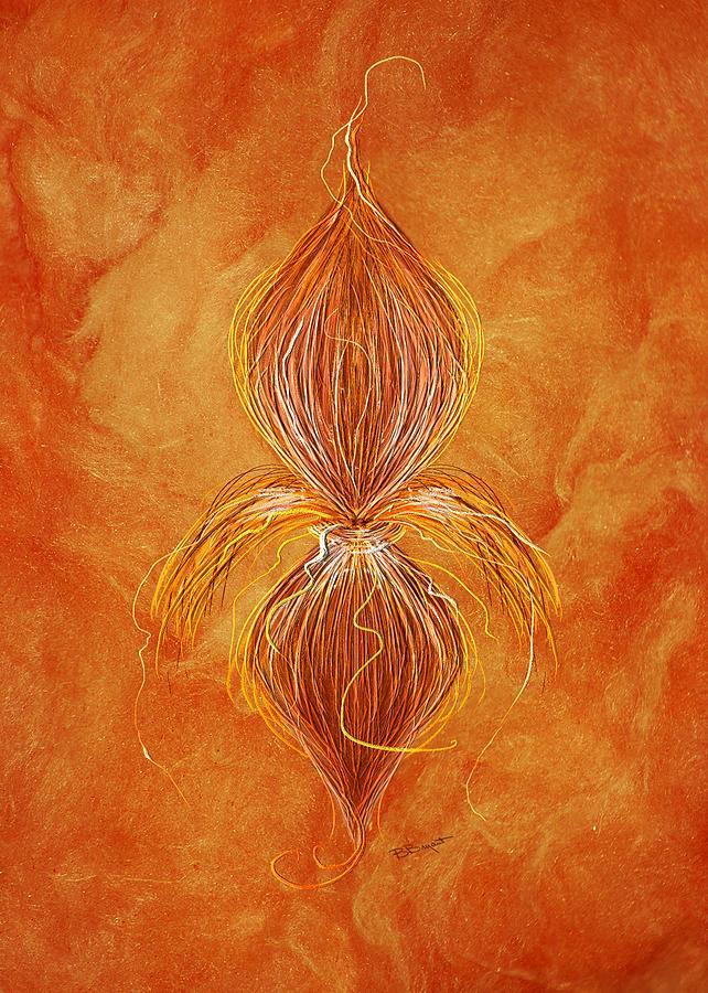 Fleur De Lys Painting - Fleur De Lys by Brenda Bryant