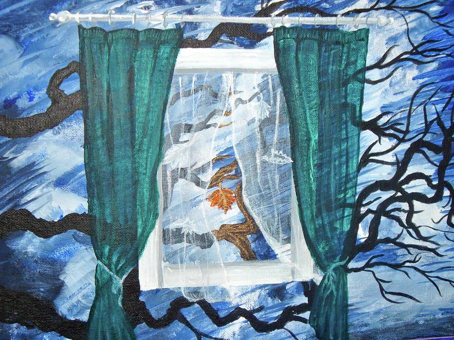 Window Painting - Floating Window by Kayla Chalko