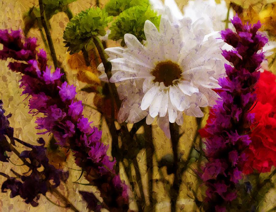Flowers Photograph - Floral Art IIi by Tina Baxter