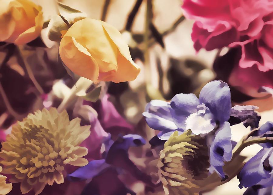 Flowers Photograph - Floral Art V by Tina Baxter