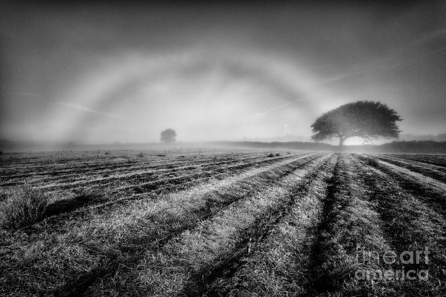 Black And White Photograph - Fog Bow by John Farnan