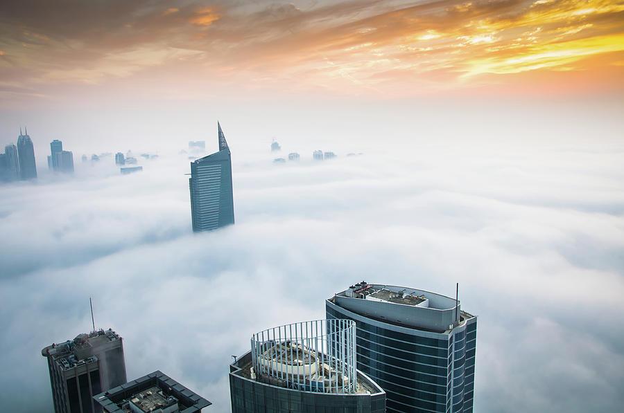 Fog In Dubai Photograph by Umar Shariff Photography