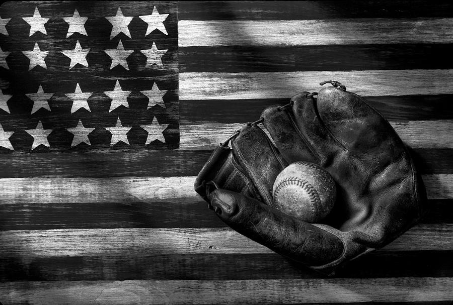 Black And White Baseball Posters