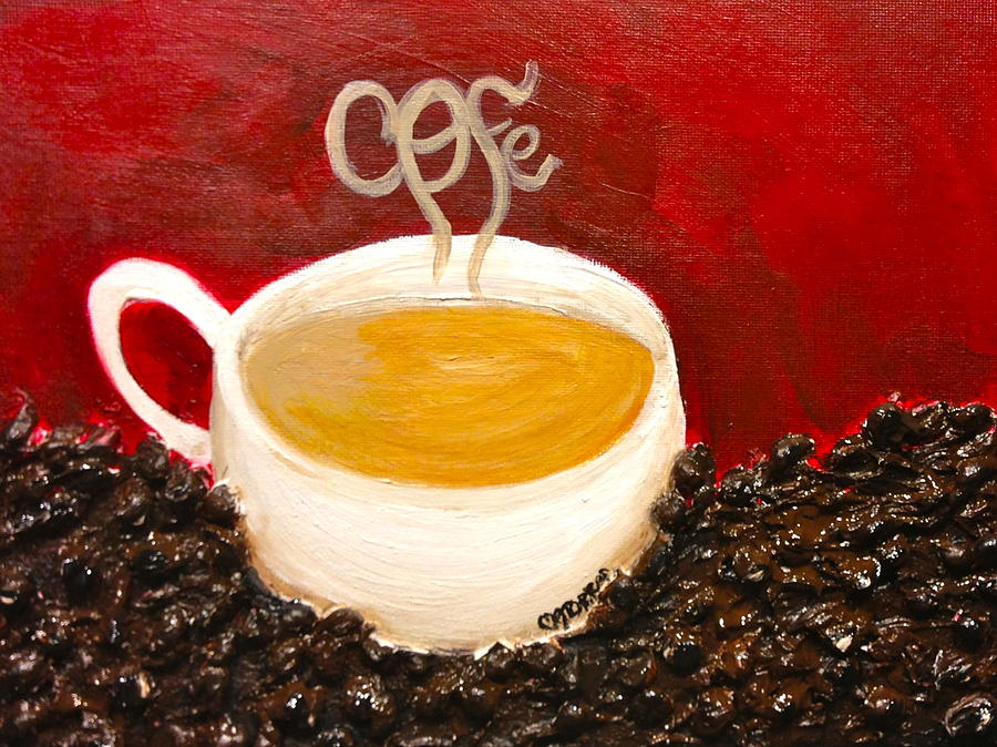 Coffee Painting - For The Coffee Lover by Melissa Torres