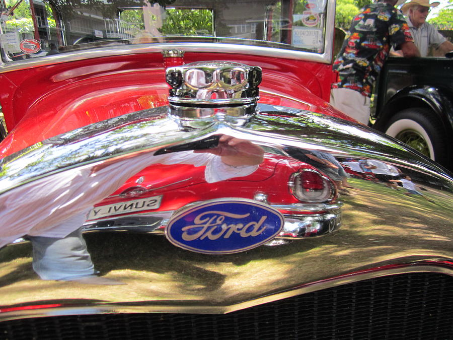 Ford Photograph - Ford Classic Car  by Max Lines