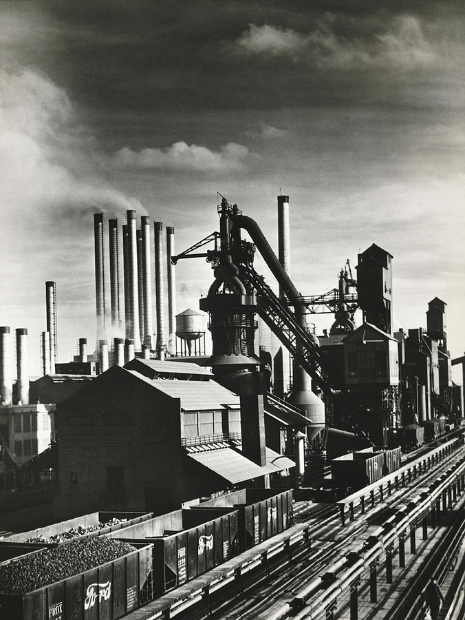 1930's Photograph - Fords River Rouge Plant by Underwood Archives