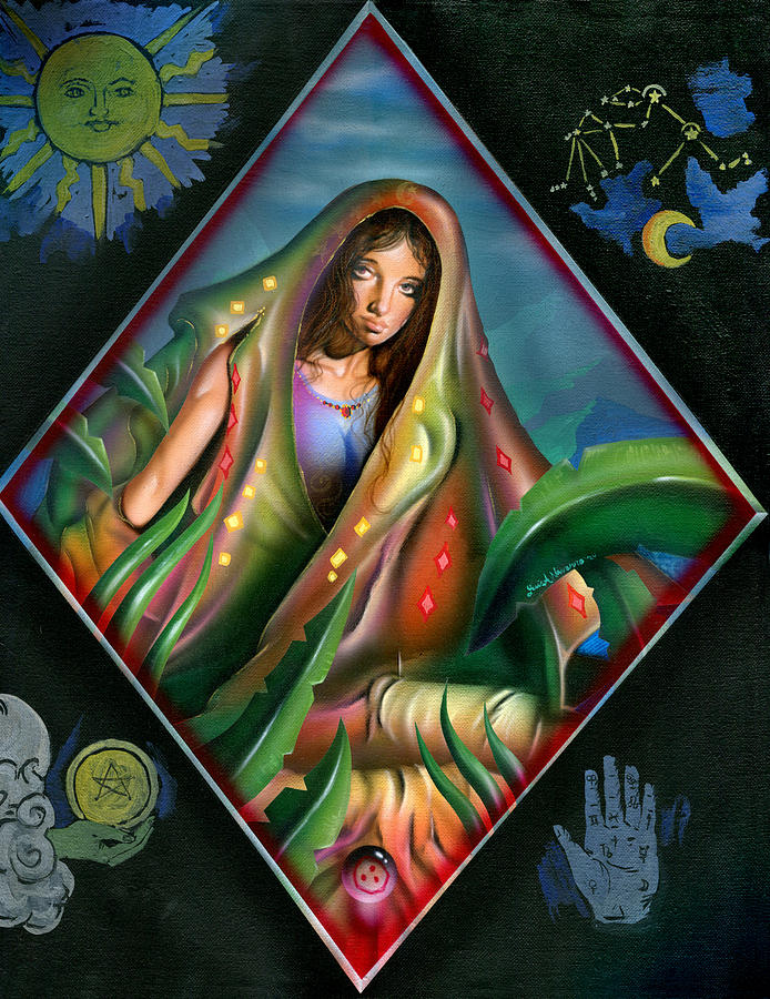 Gypsy Painting - Fortune Teller by Luis  Navarro
