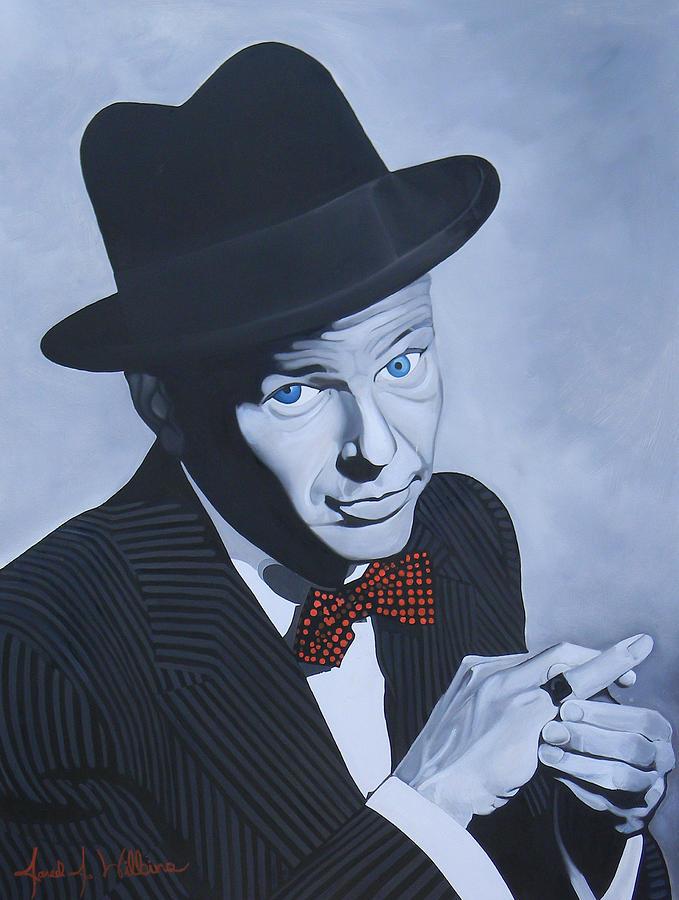 Frank Sinatra Painting - Frank Sinatra by Jared Wilkins