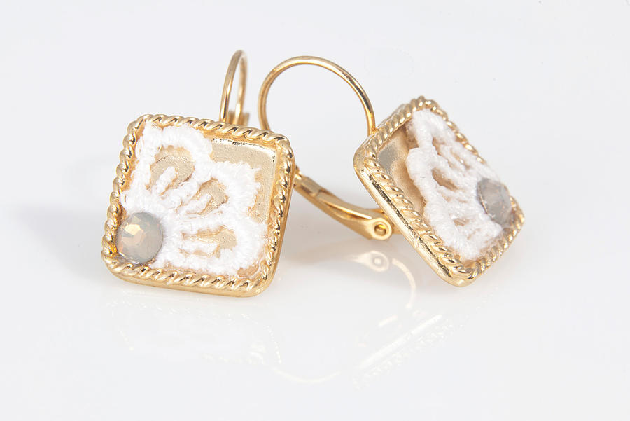 Jewelry Jewelry - Free Shipping Idit Stern Sweet Squares Earrings by Idit Stern
