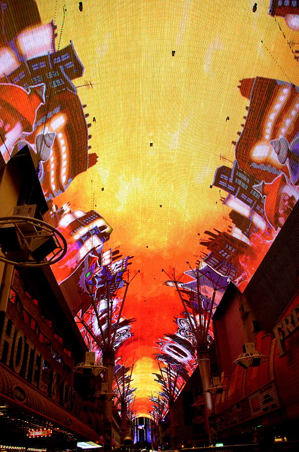 Fremont Photograph - Fremont street 4 by Michael Anthony