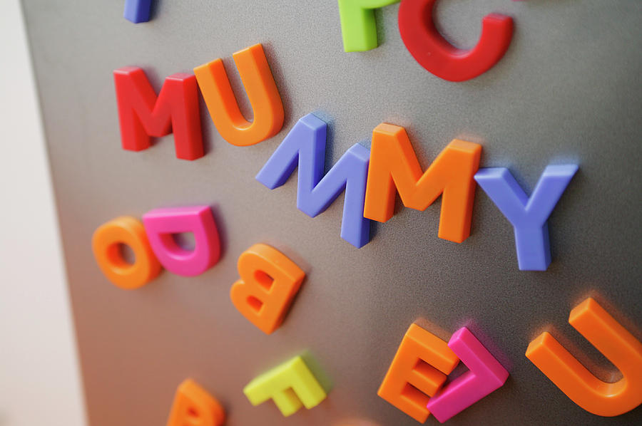 Objects Photograph - Fridge Magnets by Michael Donne/science Photo Library