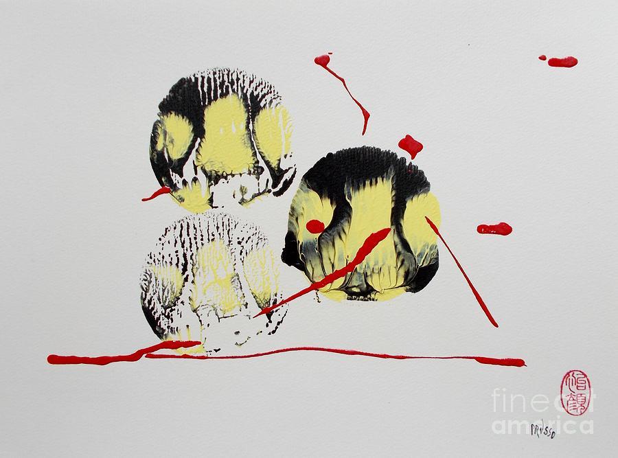 Original Painting - Fugu Ichi by Roberto Prusso