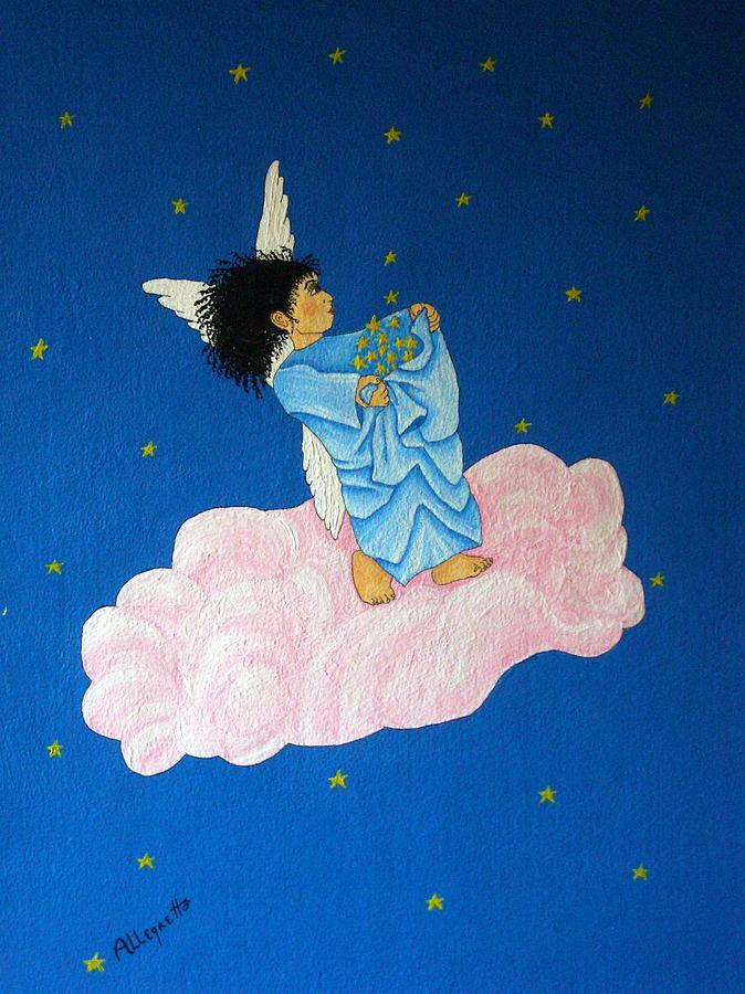Animation Painting - Gathering Starlight by Pamela Allegretto