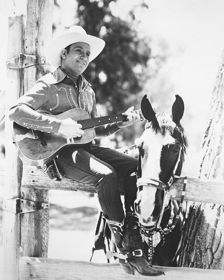 Gene Autry Photograph - Gene Autry by Silver Screen