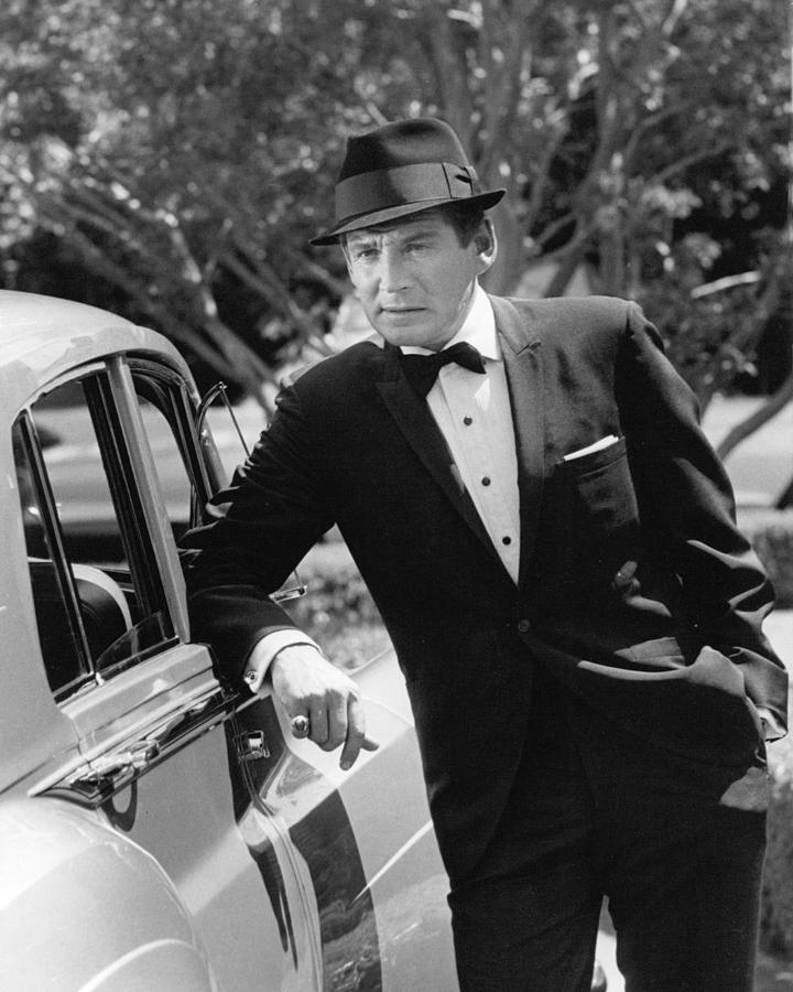 Gene Barry Photograph - Gene Barry by Silver Screen