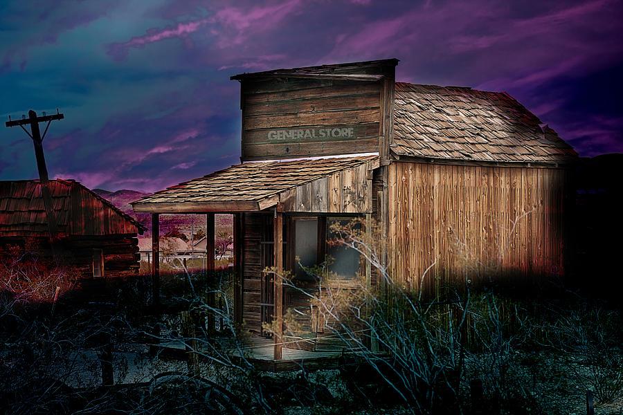 Wooden Photograph - General Store by Gunter Nezhoda
