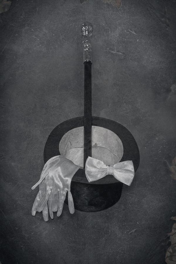 Top Hat Photograph - Gentleman by Joana Kruse