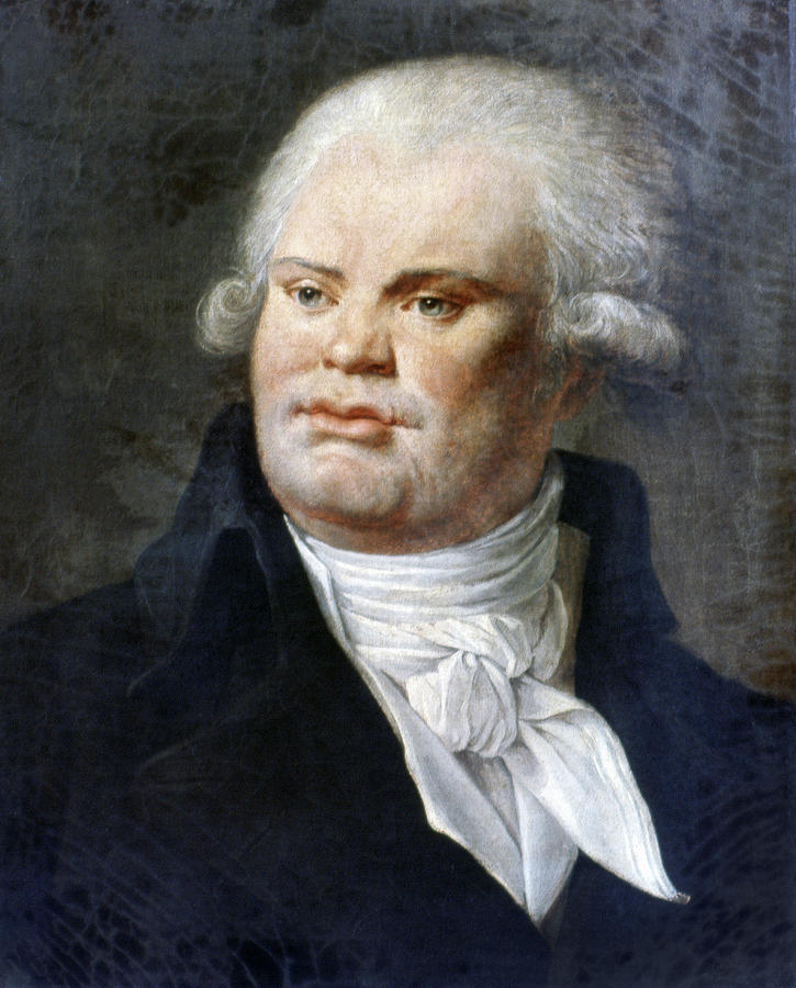 1792 Painting - Georges-jacques Danton (1759-1794) by Granger