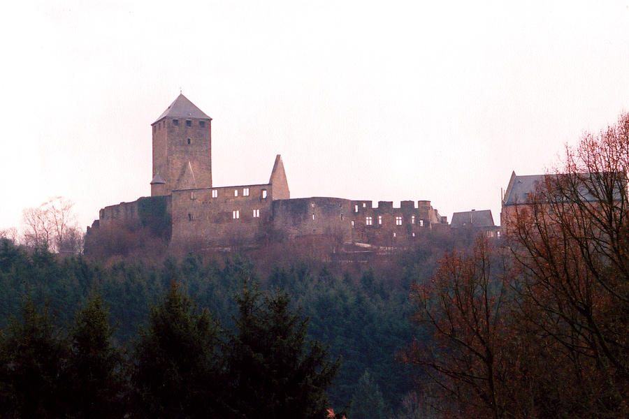 Castle Photograph - German Castle by Jessica Wakefield