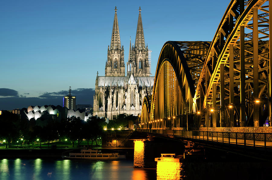 Germany, Cologne, View Of Cologne Photograph by Westend61