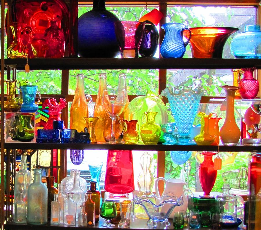 Glass Photograph - Gifts Of Glass by Jeanne Porter
